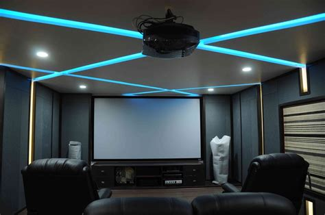 Contemporary Home Design Tips by Home Theatre Designs India Home Theater Design Ideas