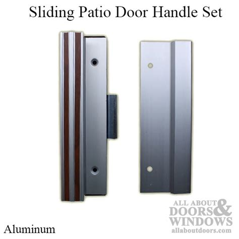 Sliding Patio Door Handle Set Handle Set Sliding Patio Door Extruded Aluminum 4 15 16 Inch Choose Color