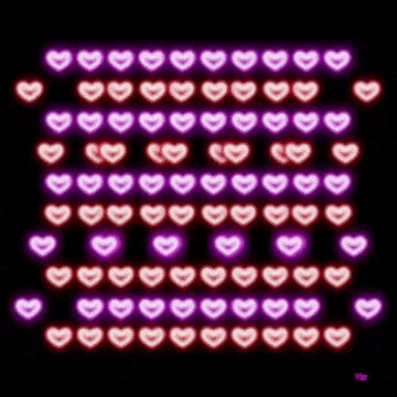 colorful pattern gif animation hearts gif find share on giphy