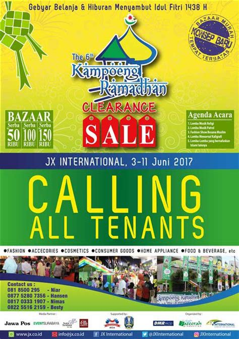 Bazaar 5 11 Juni Di Central Park Mall lomba musik patrol di the 6th koeng ramadhan