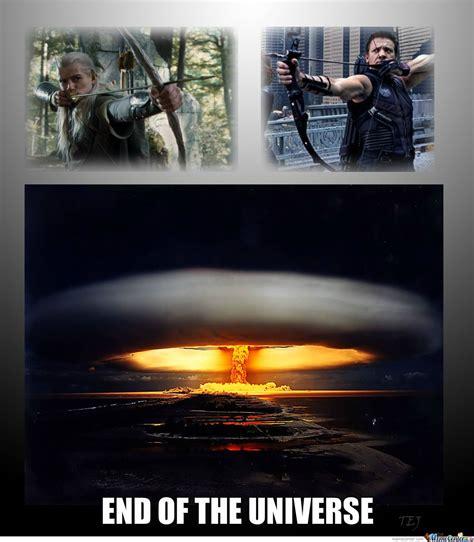 Hawkeye Meme - legolas v s hawkeye by tej f1 fantic meme center