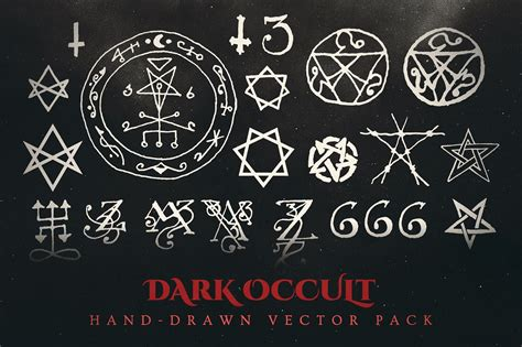 download resumes esoteric dark occult vector pack illustrations