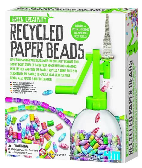 How To Make Recycled Paper At Home For - 4m recycled paper kit toys