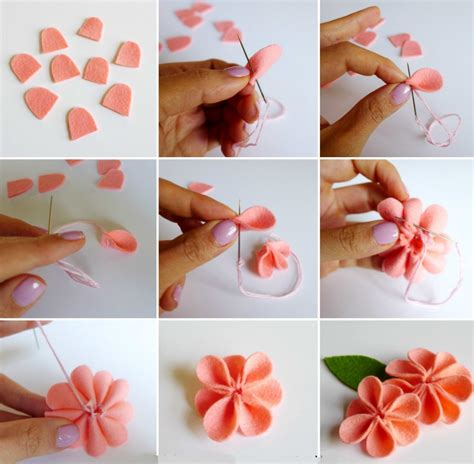 How To Make Handmade Flowers From Ribbon - 寘 崧 綷 綷