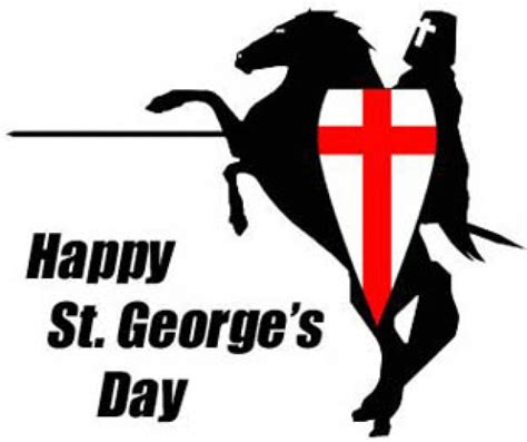 s day quotes george st georges day season opener sat 23rd april news