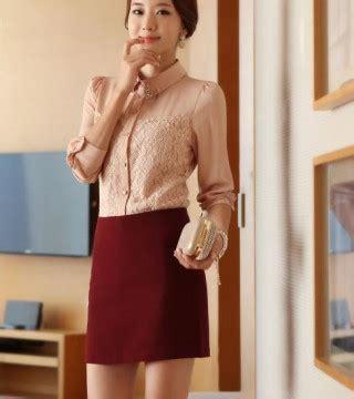 A143 Kemeja Blouse Sifon Coklat Lengan Panjang kemeja wanita brokat coklat muda model terbaru jual