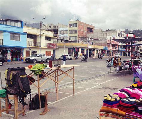 Maroko Ponco otavalo im norden ecuador