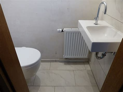 gäste wc modernisieren g 228 ste wc nachher pictures to pin on
