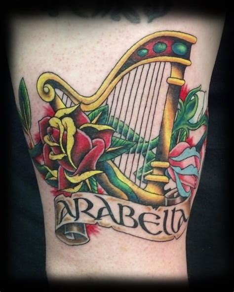 harp tattoo 23 best o neill family history images on