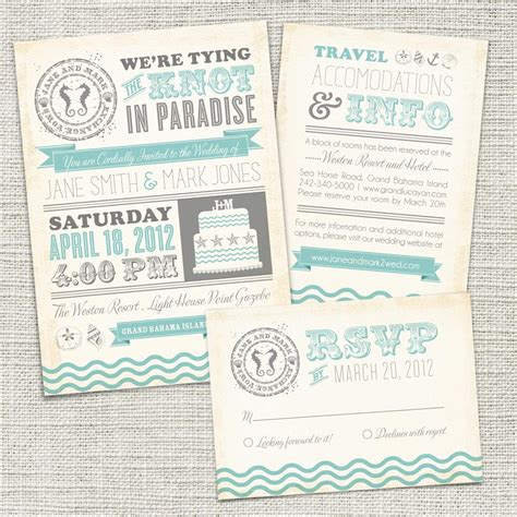 printable wedding invitations beach vintage beach wedding invitation printable