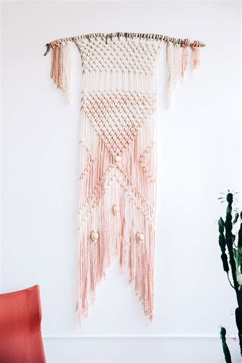 Meaning Of Macrame - foxtail moss mad for macrame with modern macrame