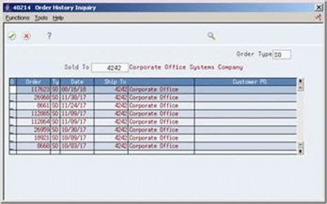 enter sales orders with templates