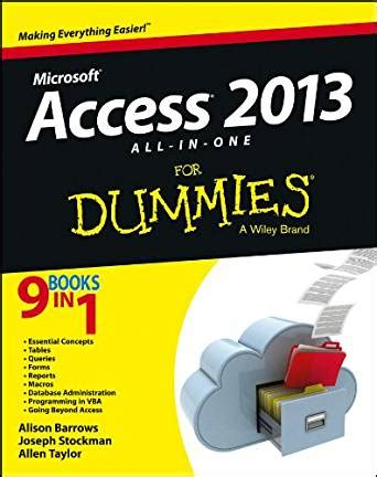 access 2013 all in one for dummies ebook