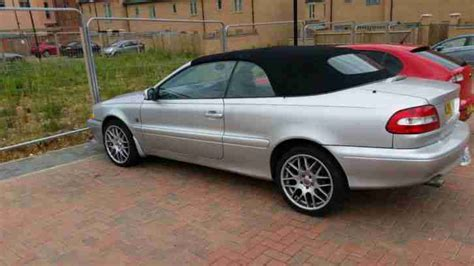 volvo t5 convertible volvo 2004 c70 convertible t5 gt manual car for sale