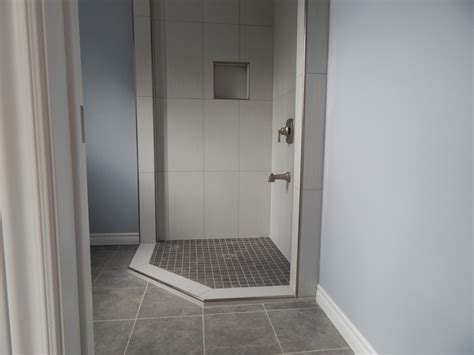 How To With A Shower by Tiled Corner Shower Creativetilingsolutions