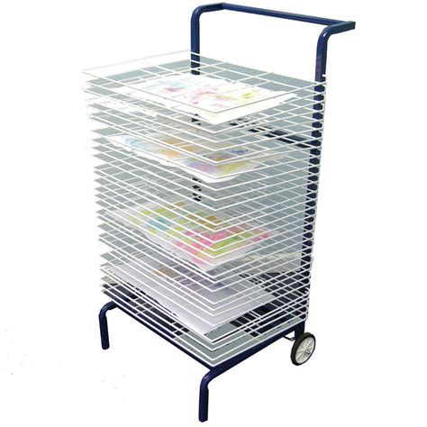 Painting Drying Rack by Mobile Paint Drying Rack From Early Years Resources Uk