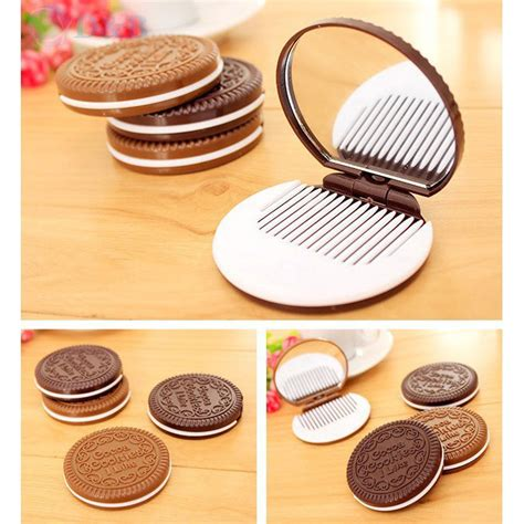 Cermin Brown cermin make up desain cookie brown