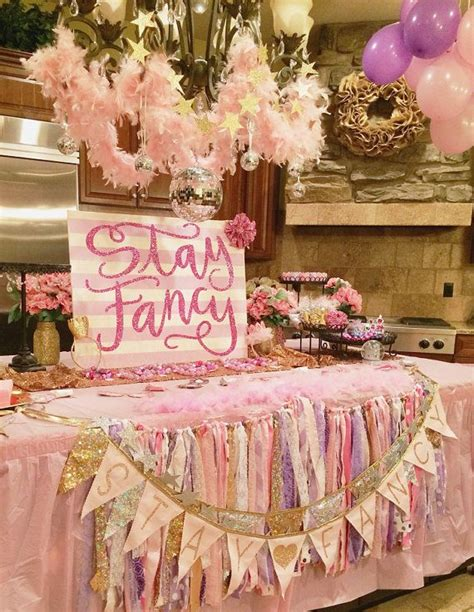 Fancy Birthday Decorations by 17 Best Ideas About Sparkle Birthday On