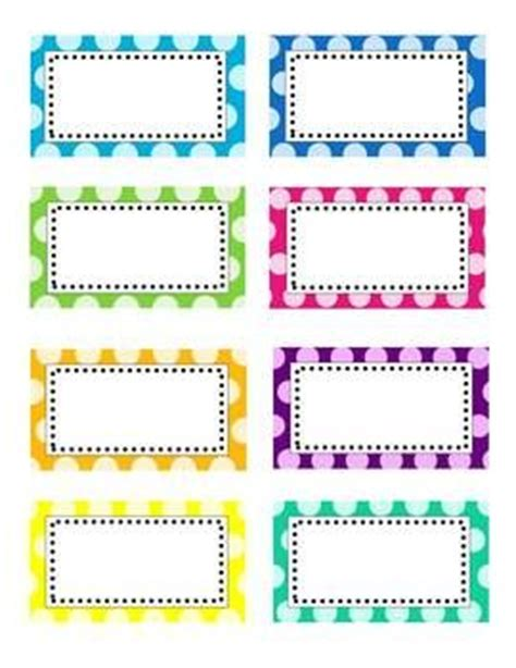 editable label templates editable polka dot labels clip images polka dot