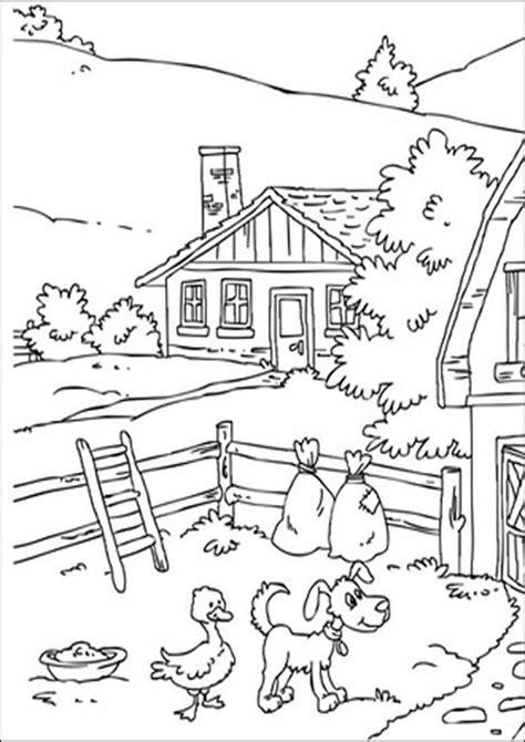scheune malvorlage ausmalbilder bauernhof 14 kostenlose ausmalbilder zeichnung