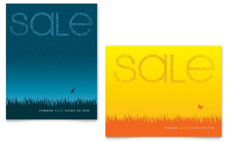 templates for posters in publisher summer sky sale poster template word publisher