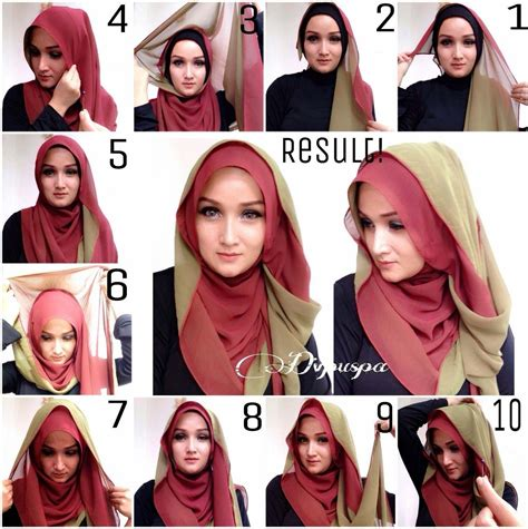 Kerudung Segi Empat Velvet 6 beautiful different styles with step by step tutorial hijabiworld
