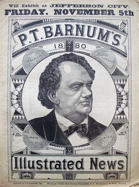circus layout newspaper p t barnum issued an annual newspaper sent out in