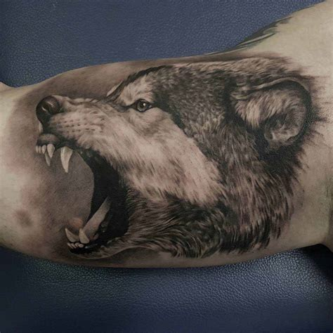 wolf arm tattoo wolf arm best ideas gallery