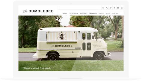 food truck website design food truck website builder template made for food trucks