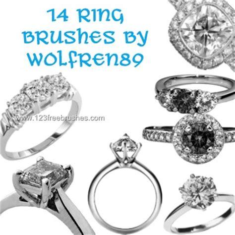 wedding rings new brushes photoshop 123freebrushes