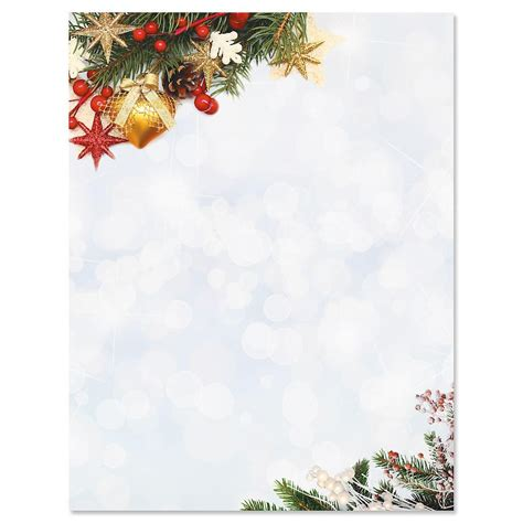 holiday sparkle christmas letter papers current catalog