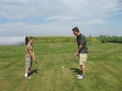 backyard miniature golf course large and beautiful
