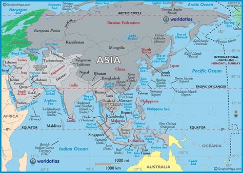 printable world map asia blank map of asia to print large
