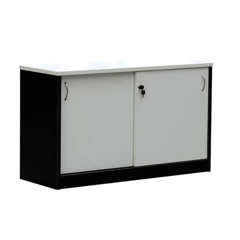 sliding door buffet cabinet swan sliding doors buffet cabinet lockable cupboard 1200mm w charcoal white