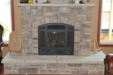 thin rock veneer fireplaces toronto by j