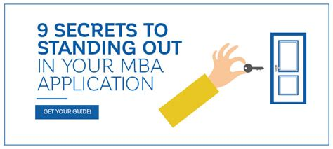 How To Get An Mba In Your 40s 9 secrets to standing out in your mba application the
