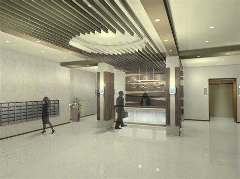 Design Apartment freda weng u chu apartment lobby design angle 1