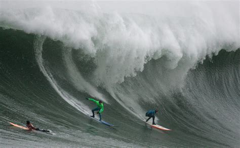 surfing competition northern california big wave surf competition gets underway us news