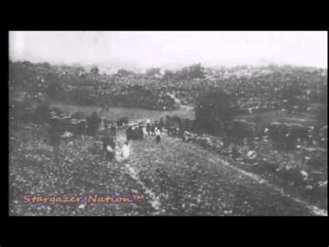 The Miracle Of Fatima Miracle Of The Sun F 225 Tima 1917 100 000 Gath Doovi