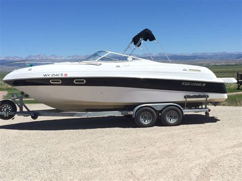 four winns boat sizes four winns sundowner 245 2002 for sale for 22 500 boats