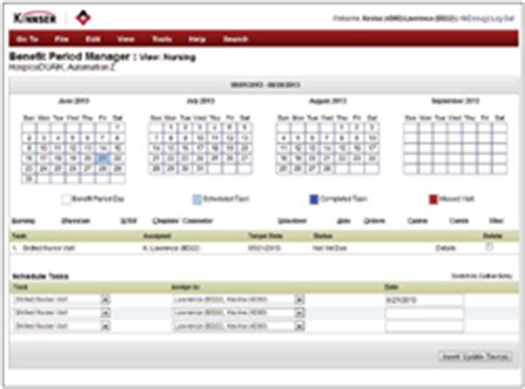 clinical charting software for home care and hospice kinnser launches new software for hospice at national home