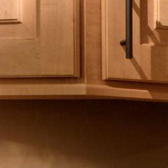 Cabinet Light Rail Moulding by Accessories 6 Square Cabinets