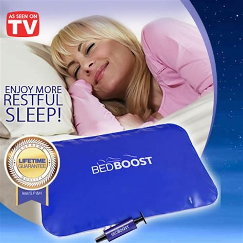 Bantal Angin Portable Bed Boost Costum Mattress Support 1 bed boost new easy