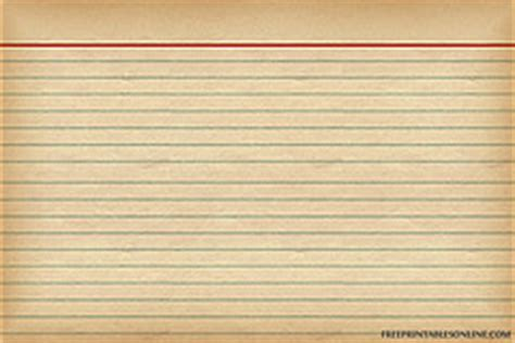 Vintage Note Card Template by Free Recipe Card Printables Yesterday On Tuesday