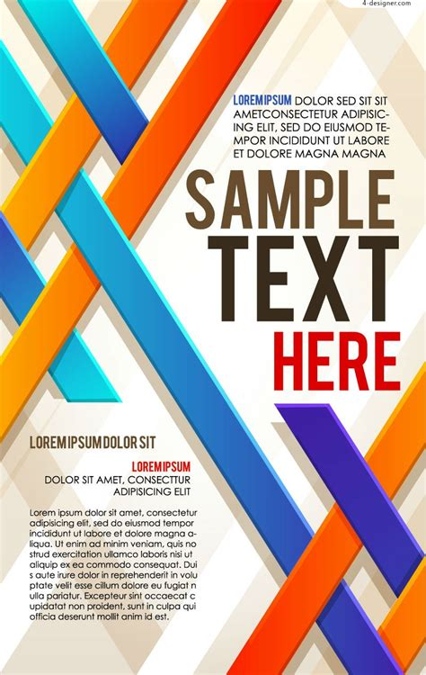 templates for designing posters 9 best images of business poster designs business flyer