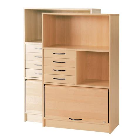 cabinet 2 shelves sliding door drawer unit aj