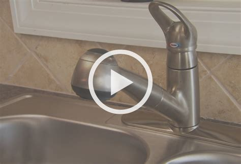 how to install a single handle kitchen faucet at the home