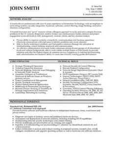 Technology Analyst Sle Resume by Click Here To This Network Analyst Resume Template Http Www Resumetemplates101