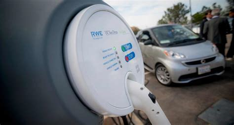 Intelligent Electronic Said smart car meets smart charger at uc san diego