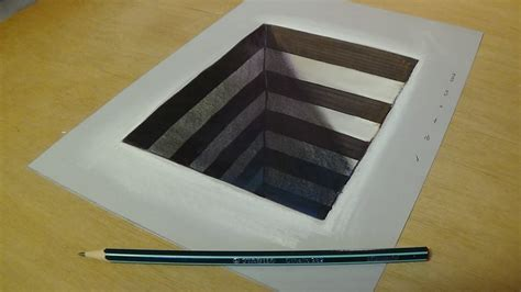 how to make 3d illusion 3d illusions drawings on paper www pixshark com images